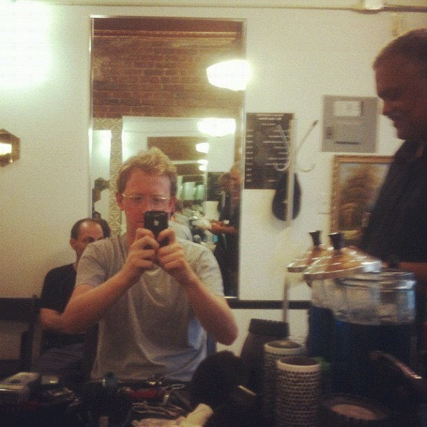 Saturday 12. (Taken with Instagram at Steve's Editing Barber Shop)