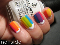 nailside:  31 Day Challenge, day 9: Rainbow