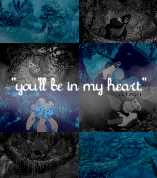 """you'll be in my heart, no matter what they say; you'll be here in my heart… always."""