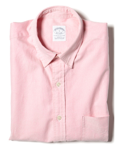 gqfashion:  GQ Selects: Brooks Brothers Slim-Fit Oxford Shirt