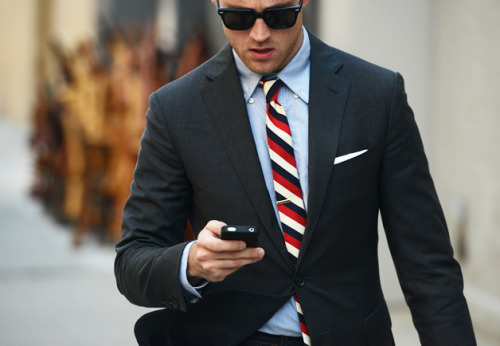 We'll just leave this here. GQ's Matthew Sebra, ladies and gents. gqfashion:  Street Style: New York Fashion Week