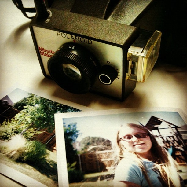Polaroid Land Camera - $12. Fuji Film - $10. Instant Photo -  Priceless. #landcamera #polaroid #polaroidland #believeinfilm #mrholga  (Taken with Instagram)