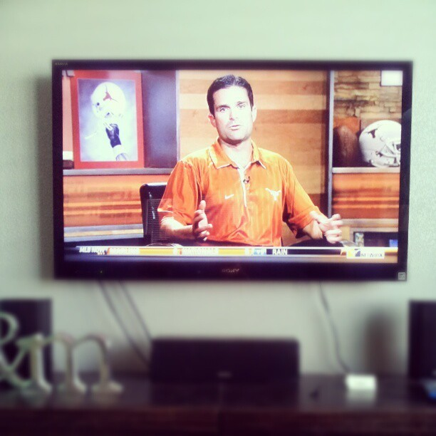 finally. #hookem  (Taken with Instagram)