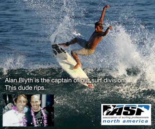 "Introducing Orange Team: Alan Blyth is the captain of our Surf division, we call him ""El Pro"" www.hightideloscabos.com"