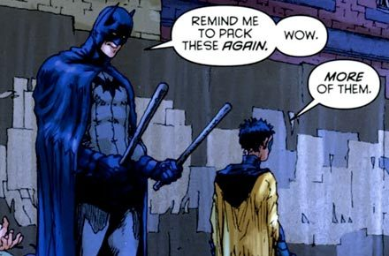 Dick Grayson never wanted to be Batman.