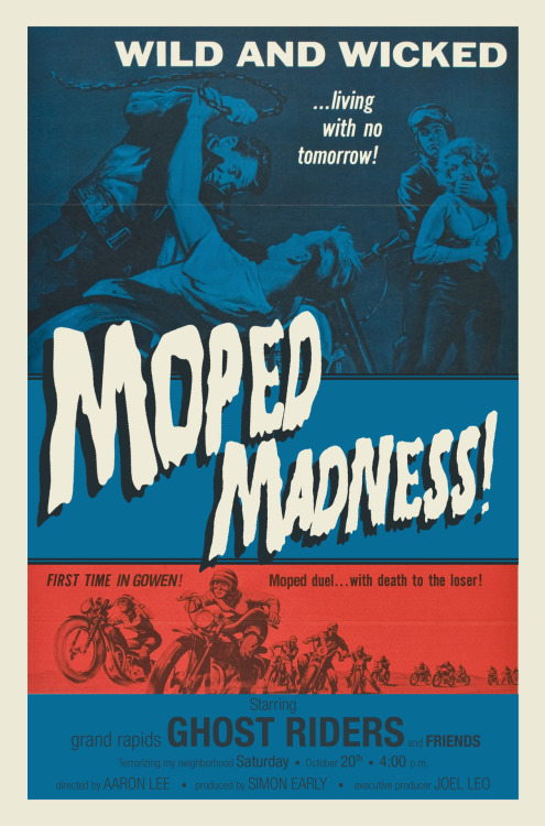 MOPED MADNESS, coming October 20th