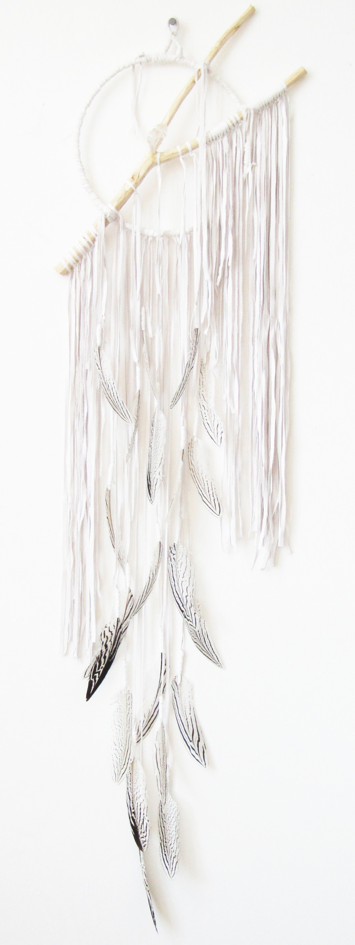 Dream Catcher  Atlantis Series  Snow Quartz White  Small  For Totokaelo  totokaelo.com