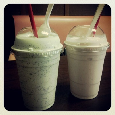 #milkshakes with @milliekp  (Taken with Instagram at Fosselman's Ice Cream Co.)