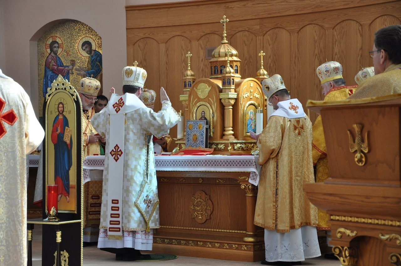 Hierarchical Divine Liturgy in the Byzantine Rite