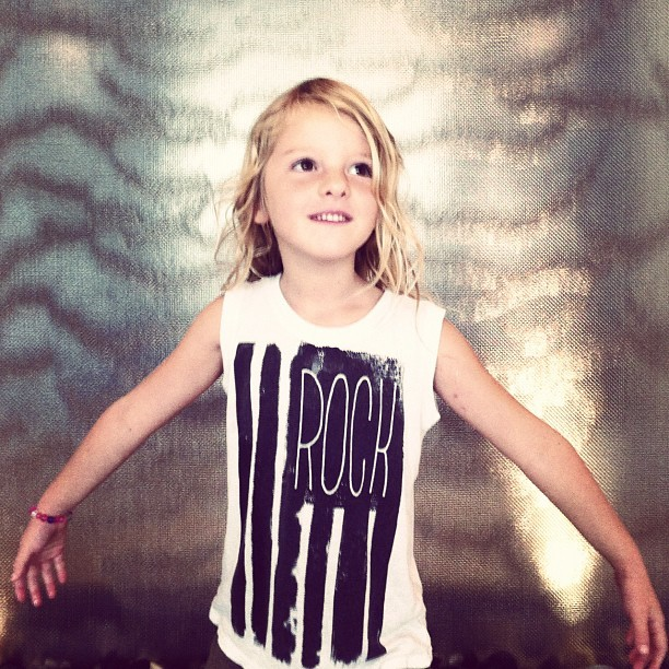 miniandmaximus:  Rock tank #rock #kidswear  #kidsfashion #graphic #tee #kids  (Taken with Instagram)