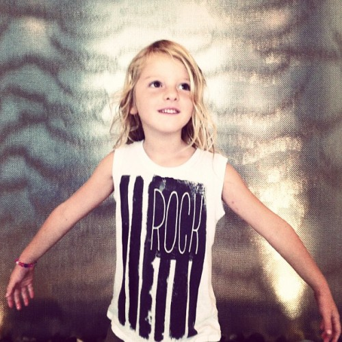 Rock tank #rock #kidswear  #kidsfashion #graphic #tee #kids  (Taken with Instagram)