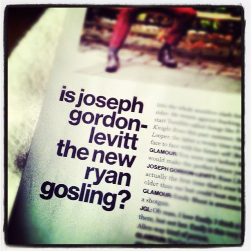 Glamour asks the tough questions! —Amelia (Taken with Instagram)