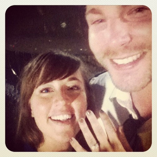 He asked! I said yes, of course!!!!  (Taken with Instagram)