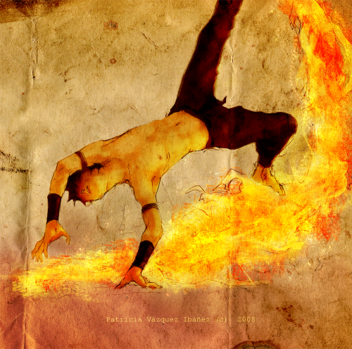 avatarjunkies:  maddieisaginger:  Zuko Firebending moves by ~0KiWi0  this is beyond boss status