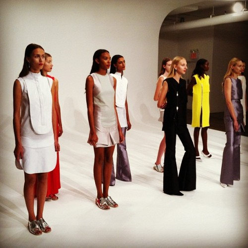 A look at Dean Quinn's Spring 2013 collection. #nyfw #fashion  (Taken with Instagram)