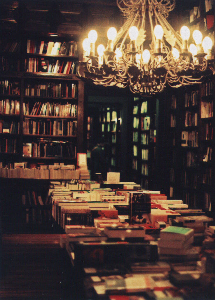 Leave me here so i can read the last page of ever single book :]