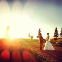 #wedding #bride #groom #sunlight #edmonton #life  (Taken with Instagram at Millwoods Golf Course)