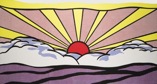 """Sunrise"", 1965  By: ROY LICHTENSTEIN…."