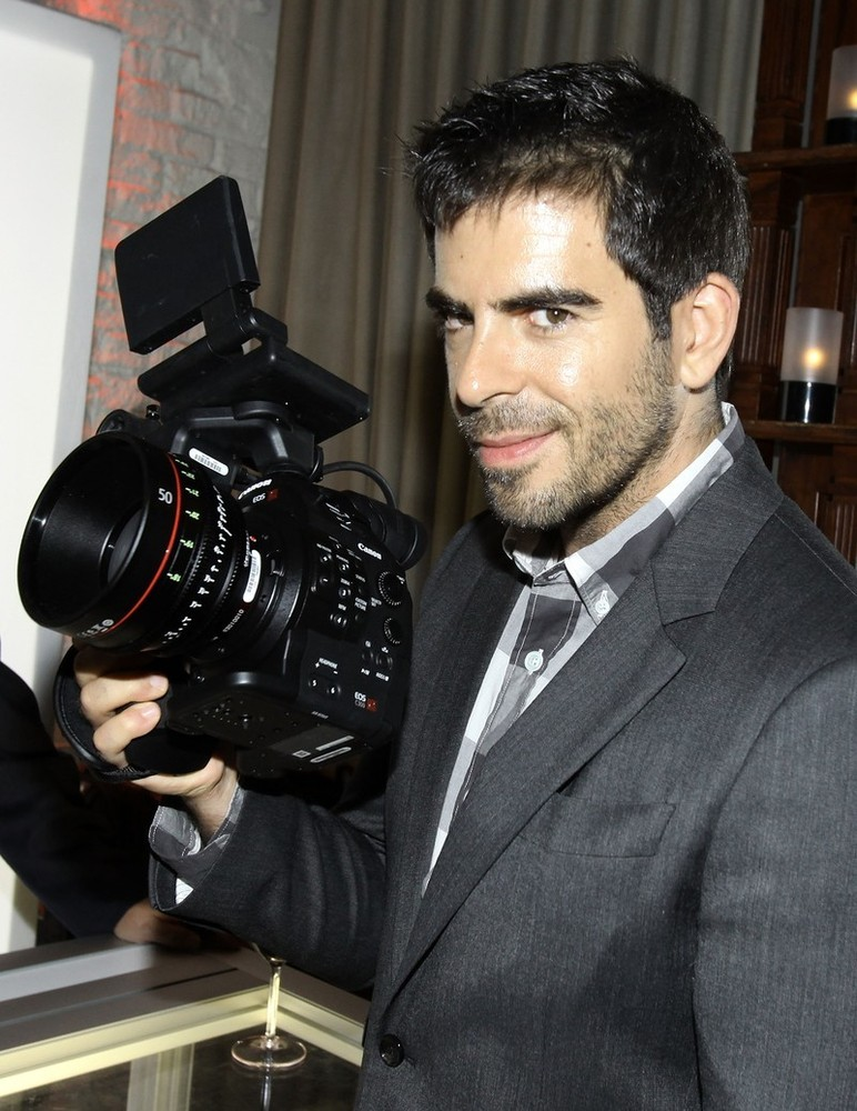 bohemea:  Eli Roth at the TIFF, September 8th 2012 HANDSOME! I dare you to make direct eye contact with this picture for 30 seconds. It'll send you into climatic fits!