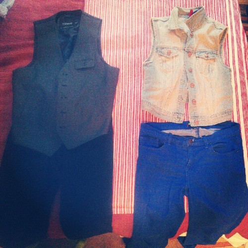 Decisions decisions… #SimplyTheVest (Taken with Instagram)