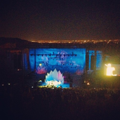 Emancipator, Red Rocks CO (Taken with Instagram)