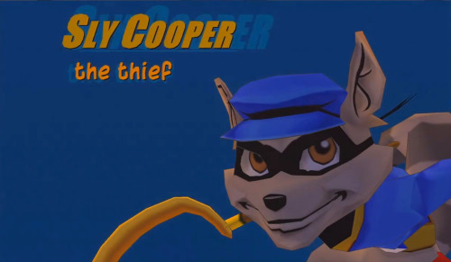 alleycatproductions:  Sly Cooper, The Thief