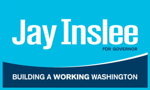 Inslee For Governor - Washington Jay Inslee is a fifth-generation Washingtonian whose connection to our state and its people has inspired his enthusiasm, vision and determination to help move Washington forward. Jay Inslee For Govenor | Volunteer | Contribute | Store Twitter | Facebook