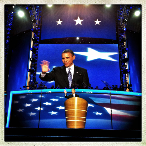 Obama.  —Photograph by Ben Lowy for Tumblr