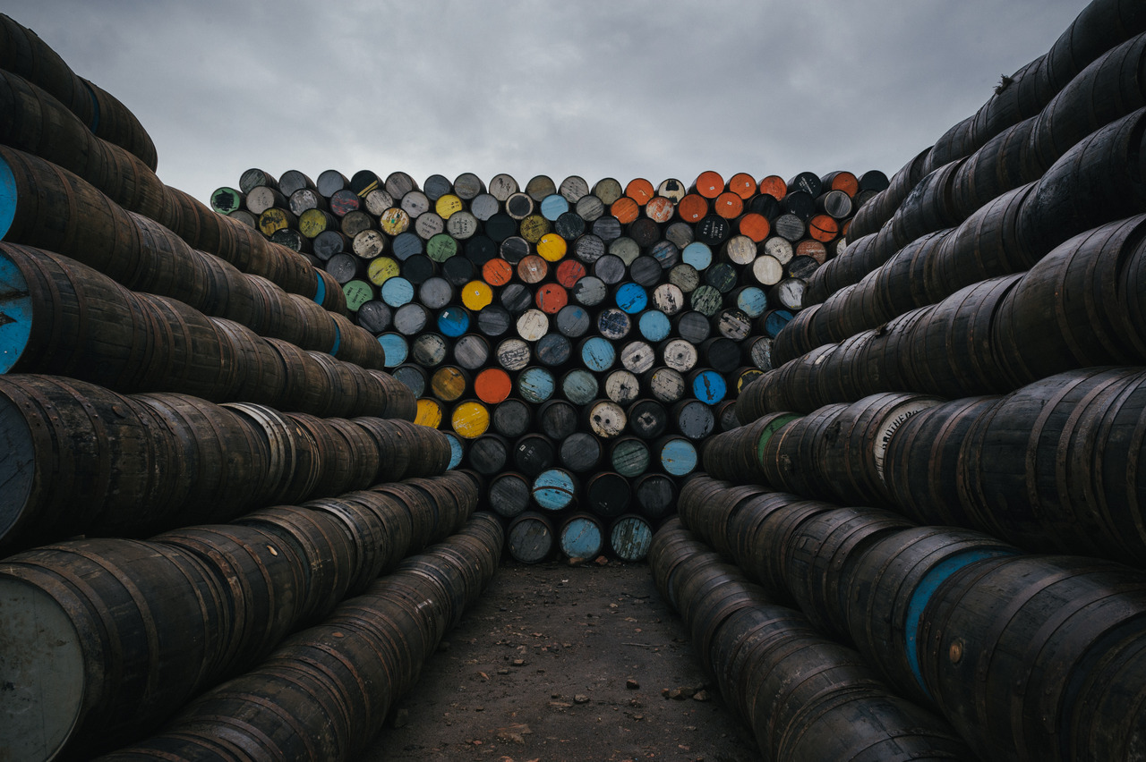 Whiskey Barrels, Northern Scotland