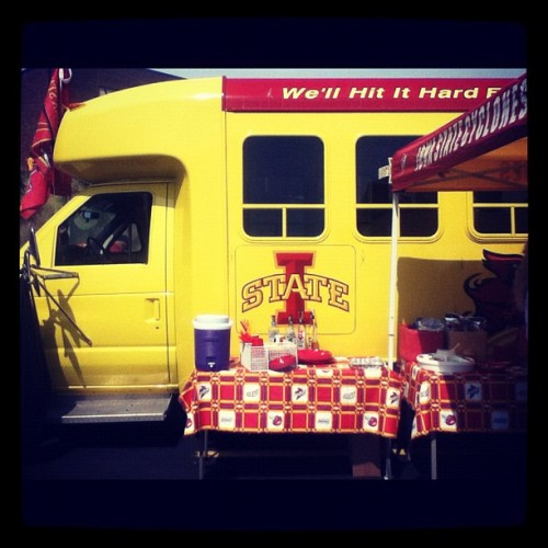 #isu #cyclonefootball  (Taken with Instagram)