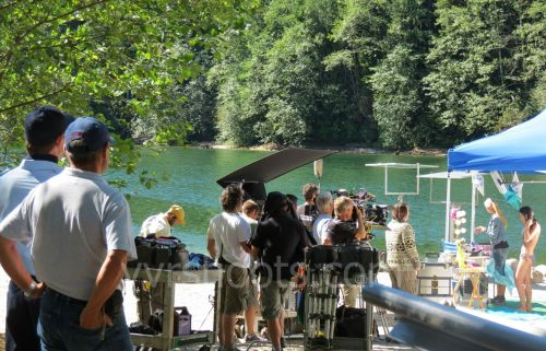 Kokanee and Alliance film The Movie Out Here (Big Hairy Movie) in Golden Ears Park near Vancouver with the Kokanee Ranger, Glacier Girls and a Sasquatch Check out my YVRShoots blog for more about the shoot in Golden Ears Park http://yvrshoots.com/2012/09/kokanees-the-movie-out-here-on-location-in-golden-ears-park.html