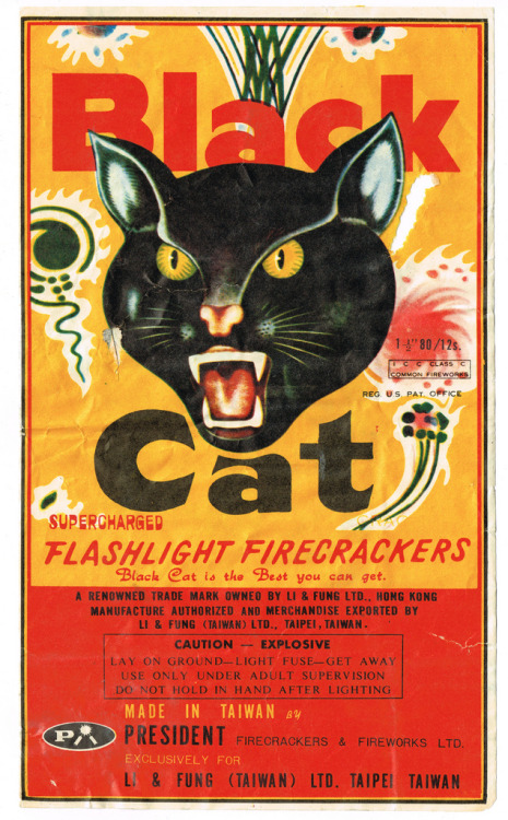 Black Cat President 80-12 C4 Firecracker Brick Label (by Mr Brick Label) the classic…