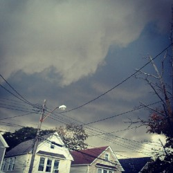 Dark times ahead!! #nyc #stormday #tornado (Taken with Instagram)
