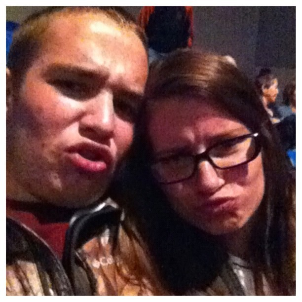 Reppin' our duckfaces at the Foreigner concert ❤😘 #boyfriend #love #concert #Foreigner #hogrally #hotsprings #onlysoberpeoplethere #loveyou  (Taken with Instagram)