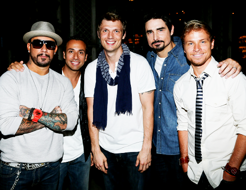 31/100 pictures of the Backstreet Boys