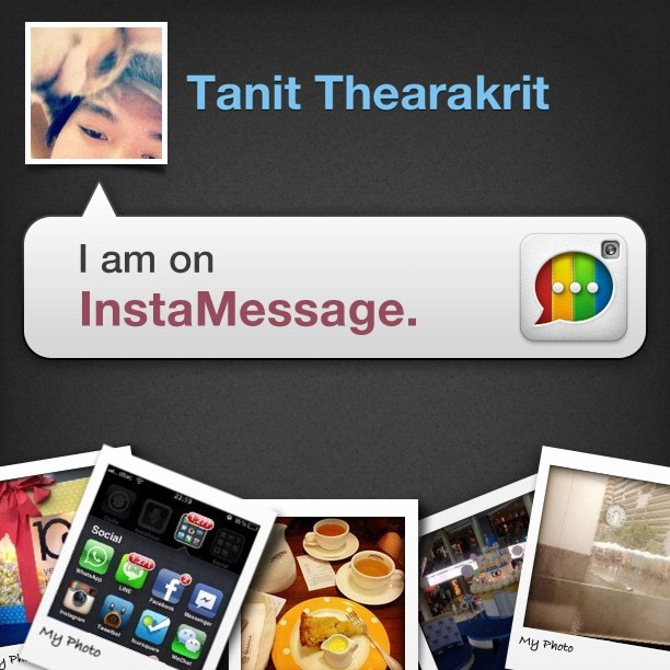 I'm on InstaMessage! Chat with me now! #instamessage (Taken with Instagram)