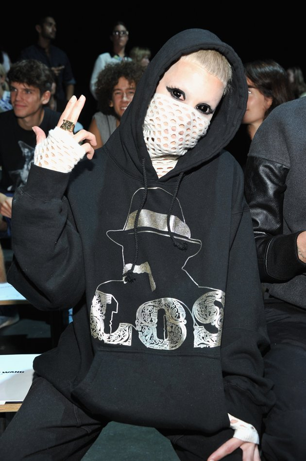 Yo Landi Vi$$er front row at Alexander Wang Spring/Summer 2013