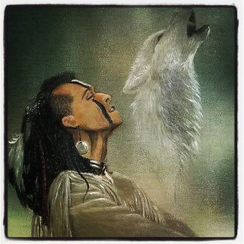 Hear the wolf howl telling the others come! Be the lead wolf speak to the others! #lead #wolves #howl #nativeamerican  (Taken with Instagram)