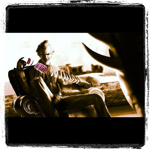 Awesome joker picture!  (Taken with Instagram)