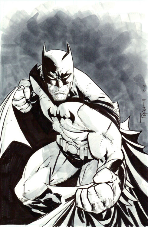 ascetadelbosque:  Batman commission at C3 by *WyA