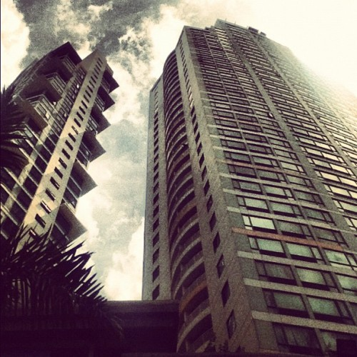 Buildings and shit #Manila #QuezonCity #Philippines (Taken with Instagram)