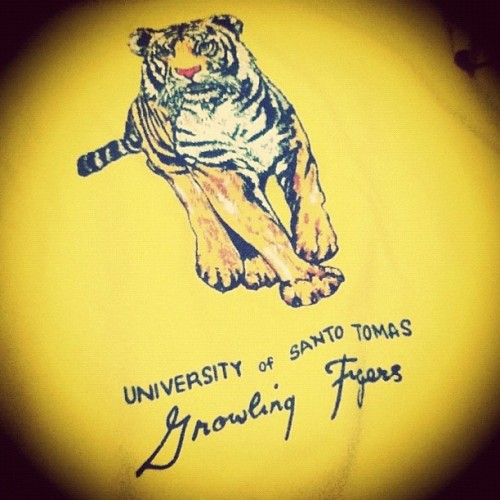 hikaruyuki:  My UST Yellow Jackets 'trainee shirt! Circa 2006. Gawd am I old or whaaaat? Haha! #UST #universityofsantotomas #ustyellowjackets #igers #igersasia #igersmanila #tigerpride #GoUSTe (Taken with Instagram)