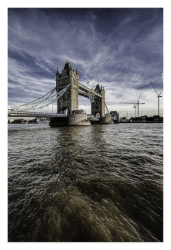 jasperthor:  Tower Bridge with Paralympcs Logo, London 2012 by Ronin237 on Flickr.