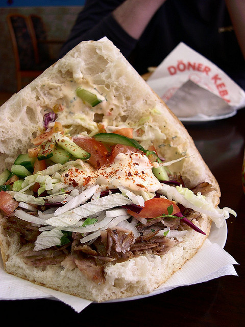 ichliebedichberlin:  Scrumptious Berlin kebab! by jessicahitch_ on Flickr.