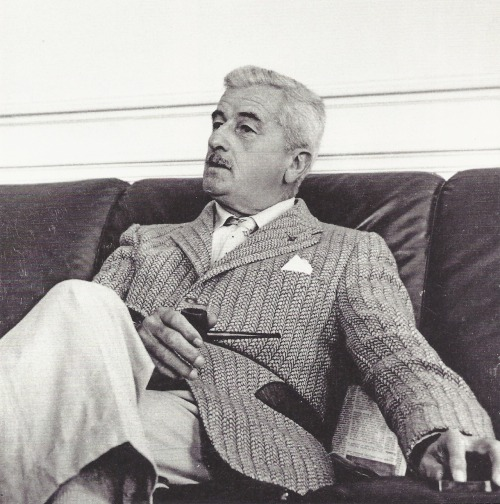 William Faulkner, années 1950, collection Harlingue