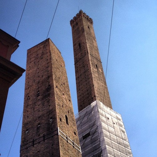 Lovely sky in Bologna (Taken with Instagram at Due Torri)