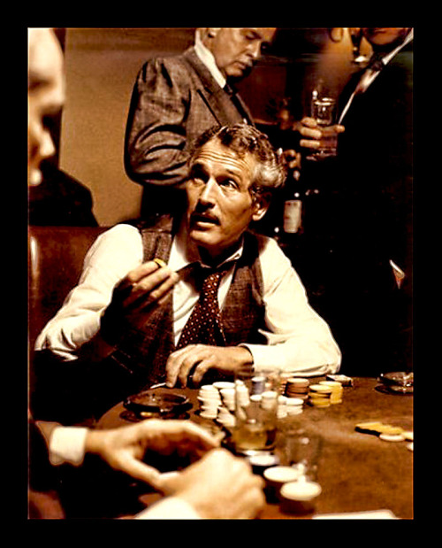 Paul Newman as Henry Gondorff in The Sting (1973).