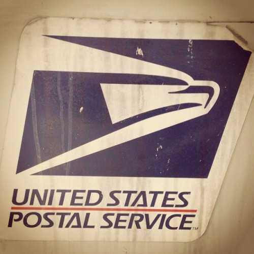 Postal. #usa #orlando #florida #postage #logo #sticker  (Taken with Instagram)