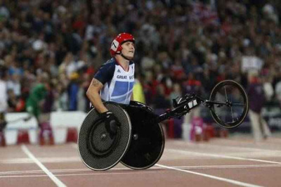 Whichever honours our athletes end up receiving after the Games, David Weir better be included in the highest category. Been a monumental performance from the Weirwolf.