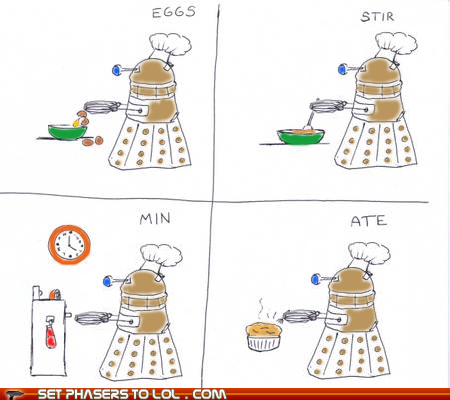 Cooking with Daleks